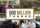GM děkuje svým zákazníkům za 500 milionů prodaných vozů (+video)