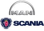 MAN a Scania jsou součástí nového holdingu Truck & Bus GmbH