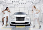 "Rolls-Royce Wraith ""Inspired by Fashion"": Móda a styl"