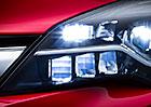 Nový Opel Astra dostane jako první v segmentu světlomety Matrix LED