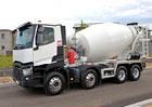 Renault Trucks C XLoad 8x4 nabízí nižší hmotnost