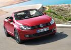Volkswagen Golf Cabriolet přechází na úspornější motory