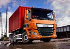 Čtyřnápravové podvozky DAF: Tandem, tridem a PTO
