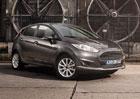 Vylepšený Ford Fiesta: Tři nové barvy a bohatší výbava