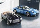 Touring vystavil na Villa d'Este dva vozy Ferrari, svůj první a poslední