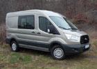 Ford Transit Kombi Van L2 AWD: Sedmkrát čtyři