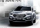 Hyundai Santa Fe 2016: S přepracovanou přídí a turbodiesely Euro 6