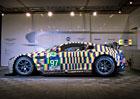 Aston Martin představuje umělecký vůz Vantage GTE Le Mans