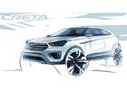Globální SUV Hyundai Creta se představuje na prvních skicách