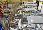 Výroba aut do května stoupla o šest procent na 551.708 vozů