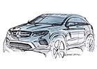 Mercedes-Benz GLC: Nástupce GLK na první skice