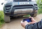 Range Rover Sport umí sám jezdit, pomocí chytrého telefonu (+video)