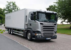 Scania a hydrogenovaný rostlinný olej