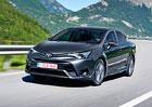 Toyota Avensis: S benzinovým 1.6 Valvematic (97 kW) za 614.900 Kč