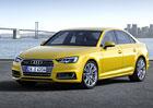 Audi A4 B9: Nov� generace s del��m rozvorem ofici�ln�, zhubla 120 kg