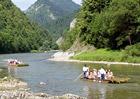 Plavby na pltích po Dunajci