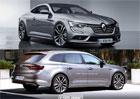 Renault Talisman: Varianty kombi a kupé očima nezávislých grafiků