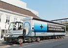 BMW využívá elektřinou poháněný tahač Terberg