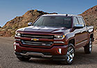 Chevrolet Silverado 2016 dostane dramatický výraz