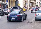 Modernizované Porsche 911 vyfoceno v Praze