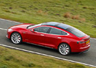 Tesla Model S dostala m�d Ludicrous, na stovku zrychl� za 2,8 sekundy