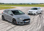 Ford Focus ST 2.0 TDCi vs. Škoda Octavia RS 2.0 TDI