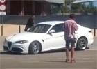 Video: Alfa Romeo Giulia QV poprvé zachycena při jízdě na ulici