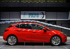 Opel Astra se chlubí nízkým součinitelem odporu vzduchu