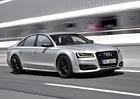 Audi S8 plus: Luxusní sedan nabízí výkon 605 koní