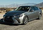 Lexus GS: Modernizace znamená příchod benzinového dvoulitru