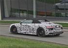 Audi R8 Spyder spatřeno při testování na Nürburgringu (video)