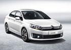 Citroën C4 Sedan: Pro Čínu bez vlnek
