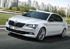 Škoda Superb SportLine: Snížený podvozek a nový design kol