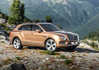 Zem�d�lsk� Bentley: SUV Bentayga dostane naftov� motor s elektrick�m dmychadlem