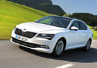 Škoda Superb GreenLine: Úsporné 1.6 TDI (88 kW) za 616.900 Kč