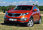 Ojet� SUV Kia Sportage: Jezd� dob�e a je�t� je v z�ruce