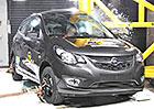 Euro NCAP 2015: Opel Karl – Čtyři hvězdy, ale jen těsně