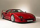 Ferrari F40 Francise Johna Connollyho míří do aukce