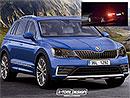 Bude takto vypadat nová Škoda Yeti? Plus první foto faceliftované Octavie!