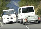 Video: Prototypy Volkswagenu Crafter si o sebe utrhly zrcátka