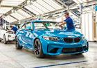 BMW M2: Šestiválcové kupé s 272 kW vstoupilo do výroby