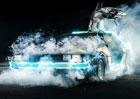 Je 21. října 2015, právě přiletěl Marty McFly ve voze DeLorean DMC-12!