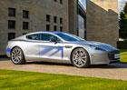 Aston Martin RapidE: Až 1000 elektrických koní zaplatí Číňani (+video)