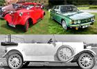 Desítka slavných i méně známých osobních vozů značky Tatra