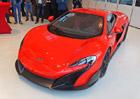 Značka McLaren vstoupila na český trh, zatím pouze nanečisto