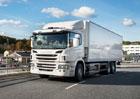 Scania  představuje hybridní nákladní vozidlo
