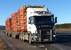 Scania R730 jako tahač nejtěžší soupravy v Evropě (+video)