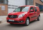 Mercedes-Benz Citan 2016: Vylepšený motor a další novinky