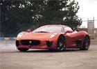 Video: Pilot F1 Felipe Massa dovádí za volantem Jaguaru C-X75. Stane se kaskadérem?
