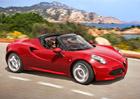 Alfa Romeo 4C Spider v Česku pořídíte od 2.060.000 Kč